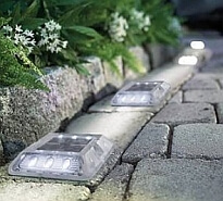 Solar driveway lights backyard lighting for How to install driveway lights